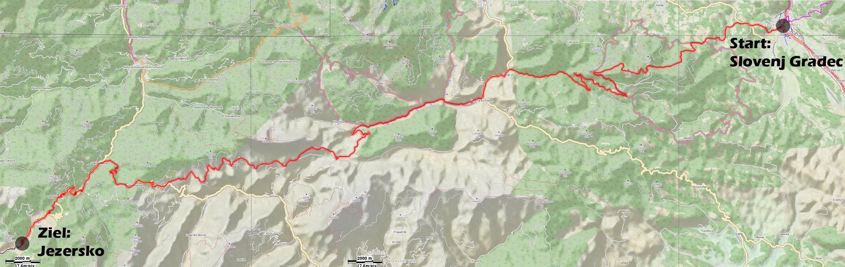 Biketour Graz- Slowenien- Italienische Voralpen- Südtirol- Münstertal